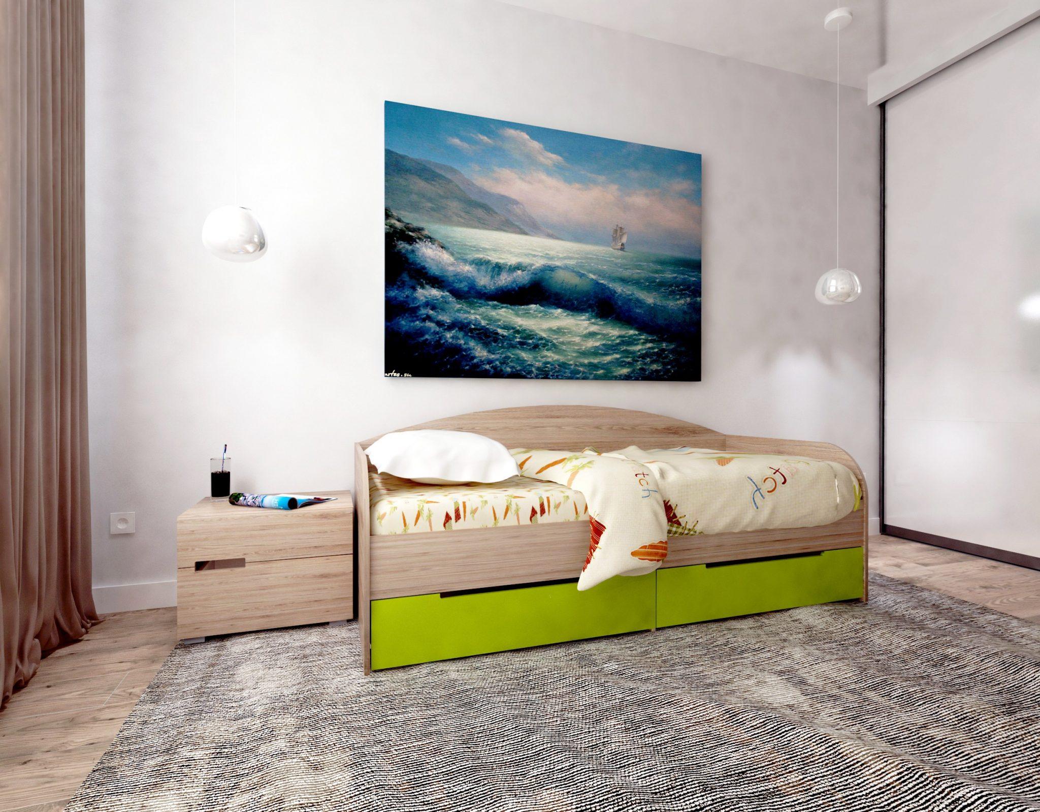 Придбайте дитяче ліжко з матрацом зі знижкою 500 гривень!